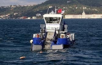 İstanbullu temizlikte sınıfta kaldı, deniz yüzeyinde 140 kamyon çöp