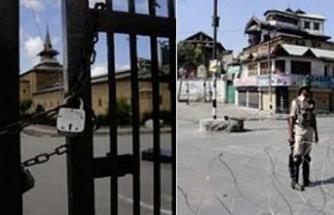 Keşmir'de Jamia mescidinde cuma namazı yasaklandı