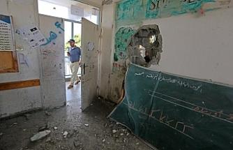 Okul vuran İsrail'e İnsan Hakları Merkezi'nden tepki