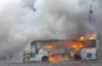 Özbekistan'da yolcu otobüsünde patlama: 5 ölü