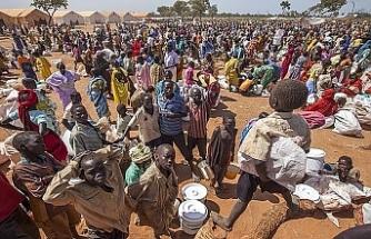 Sudan göçmenler için yardım istedi