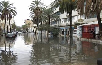 Tunus'taki selde ölü sayısı 5'e yükseldi