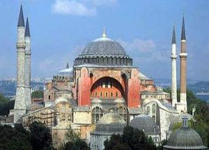 Ayasofya'nın inşası ve ilk Cuma namazı