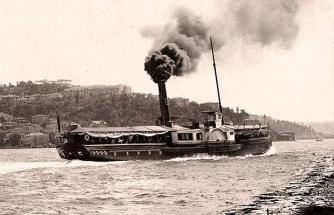İstanbul'un yandan çarklı vapuru