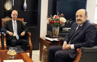 Makedonya Büyükelçisinden Saraç'a ziyaret