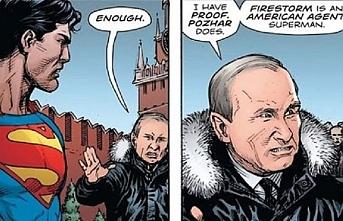 Çizgi roman siyasetinde Putin, Ruhani ve Esed