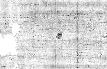 Rönesans döneminden kalma mektup mührü açılmadan okundu