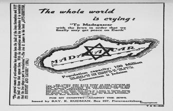 TARİHTE BUGÜN (12 Kasım): Madagaskar'da Yahudi devleti planlandı