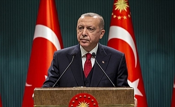 Cumhurbaşkanı Erdoğan: Türk milleti Azerbaycanlı kardeşlerinin yanındadır