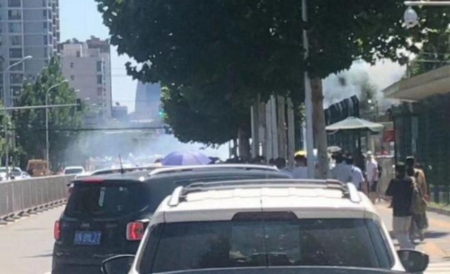 ABD'nin Pekin Büyükelçiliği'nde patlama