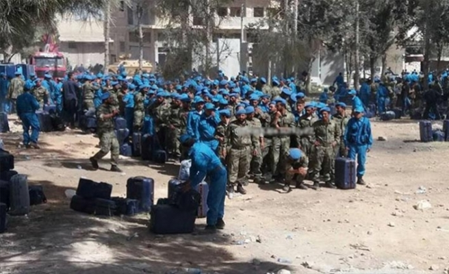 Bab'da 450 polis daha göreve hazır