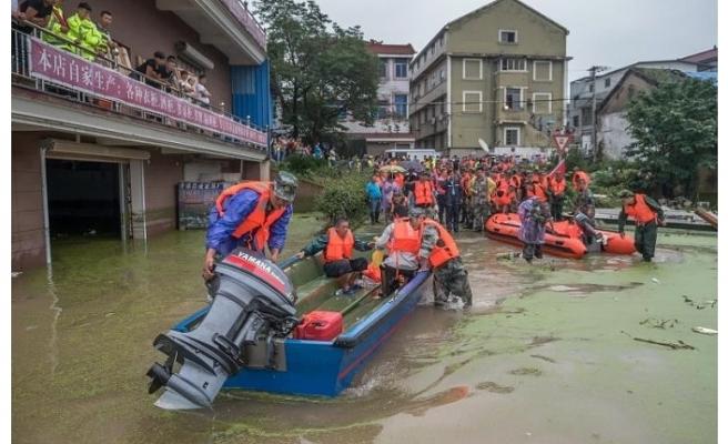 Çin'de sel milyonlarca insanı mağdur etti