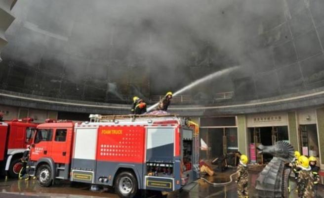 Çin'de kimyasal madde üreten tesiste patlama