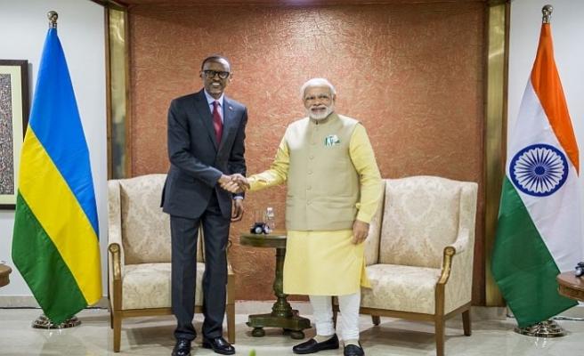 Çin'in ardından Hindistan da Ruanda'da