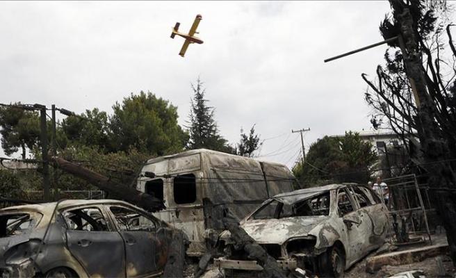 'Darbeciler Yunanistan'da yangın faciasından kurtarıldı' iddiası