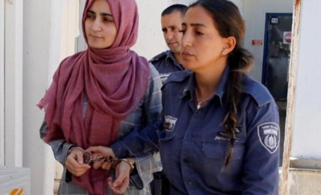 Ebru Özkan, İsrail'de prangayla hakim karşısına çıkarıldı!