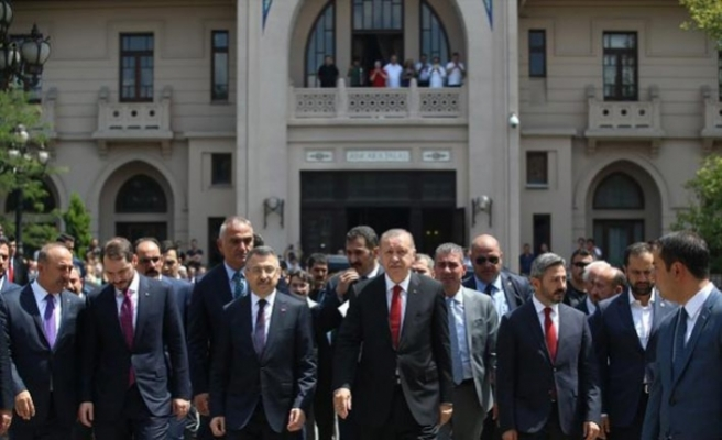 Erdoğan 1921 TBMM açılışını yaşattı