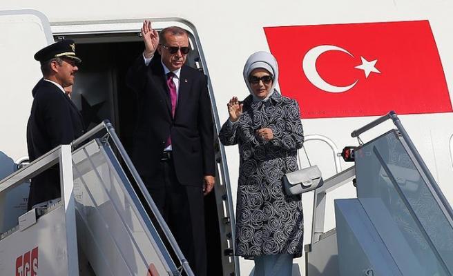 Erdoğan NATO Zirvesi için Belçika'ya gitti