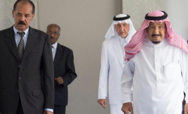 Eritre ve Suudi Arabistan liderleri görüştü