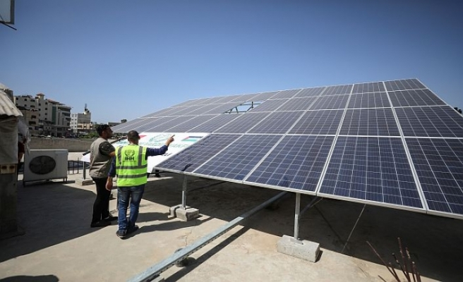 İHH'dan Gazze'deki hastaneye güneş enerjisi projesi