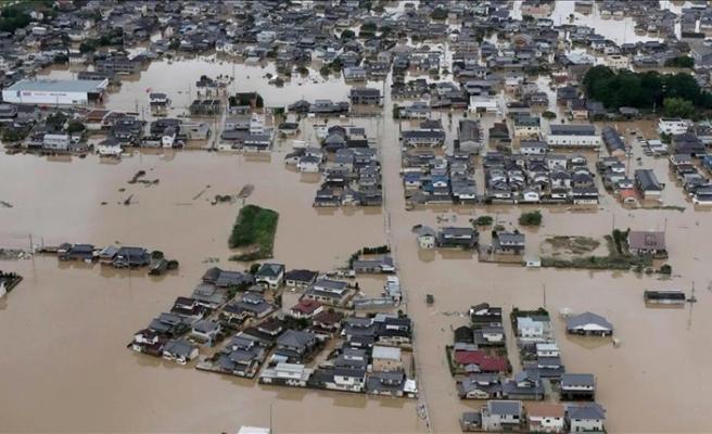 Japonya'daki sel felaketinde ölü sayısı artıyor