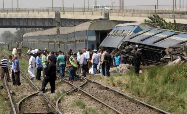 Kahire'de  tren kazası, 34 yaralı