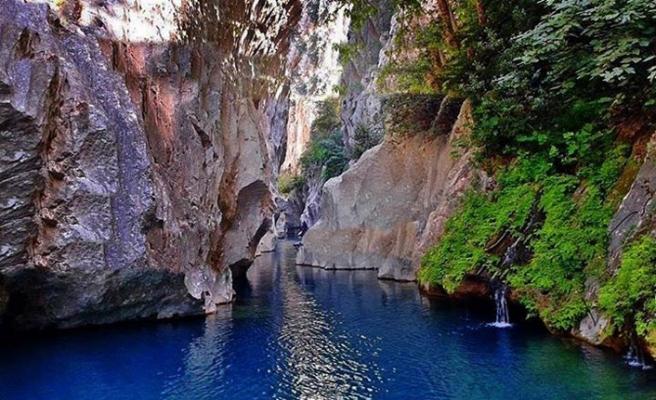 Kanyon sevdalıları Mersin'e gidiyor
