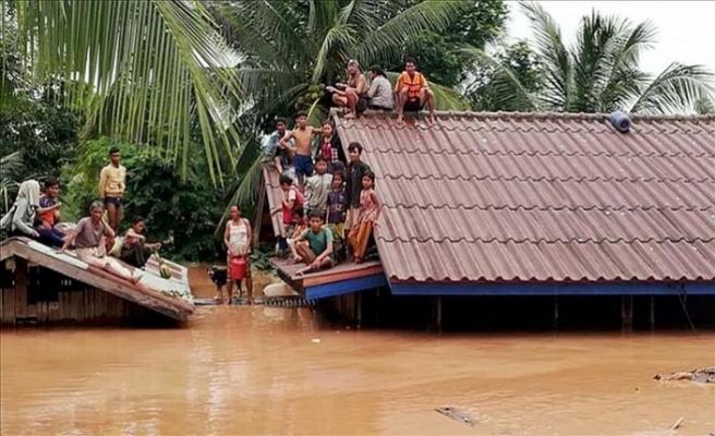 Laos'ta çöken barajda 24 ölü, onlarcası hala kayıp