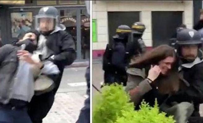 Macron'un dayakçı Özel Kalem Müdür Yardımcısı hakim karşısında