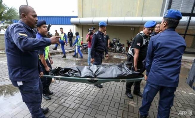 Malezya'da denizde arama çalışmaları durduruldu