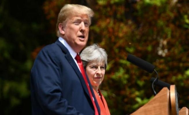 May ve Trump Brexit sonrası ticarette anlaştı