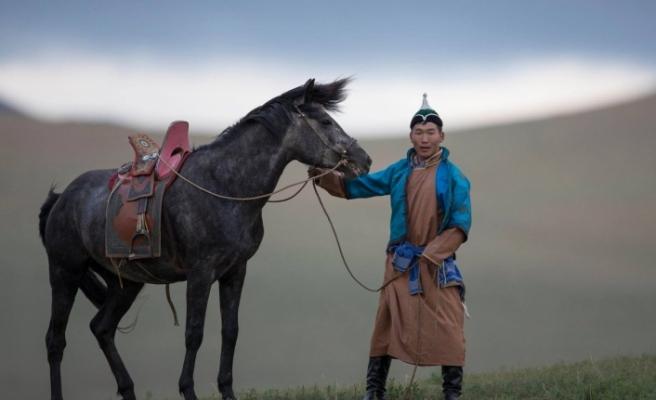 Moğollar İstanbul'da festivalde bir araya geldi