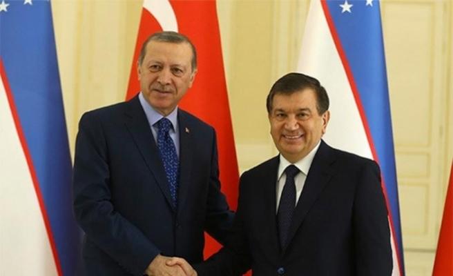 Özbek lider de 'Türkçe Konuşan Ülkeler İşbirliği Konseyi'nde