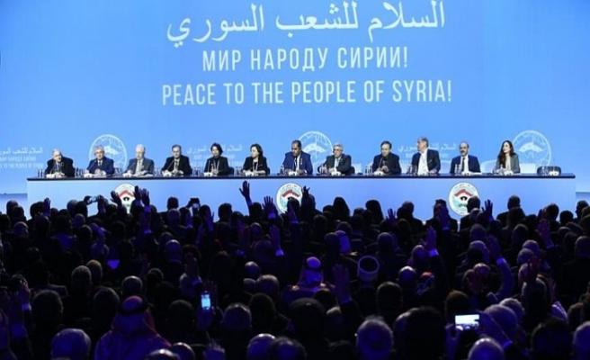 Soçi'deki Suriye toplantısında ilk anlaşma haberi geldi