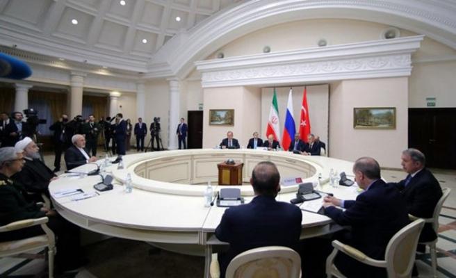 Suriye konulu Soçi'deki Garantörler Toplantısı'ndan ilk açıklama