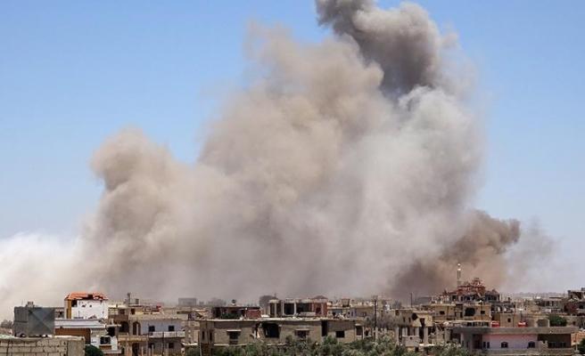Suriye'nin güneybatısında ateşkes