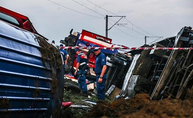 Tekirdağ'daki tren kazası ile ilgili yeni açıklama