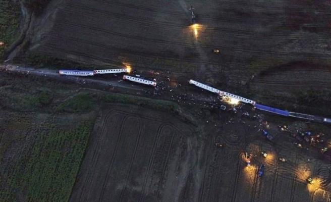 Tren kazasıyla ilgili geçici yayın yasağı