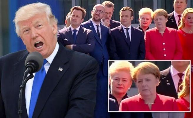 Trump: NATO'nun gücü benim