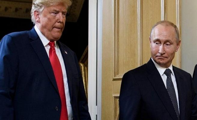 Trump, Putin'i Washington'a davet etti