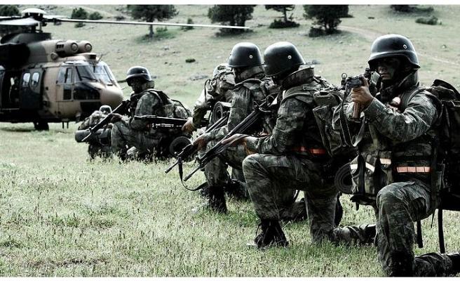 TSK'dan teröre darbe, 10 terörist etkisiz hale getirildi