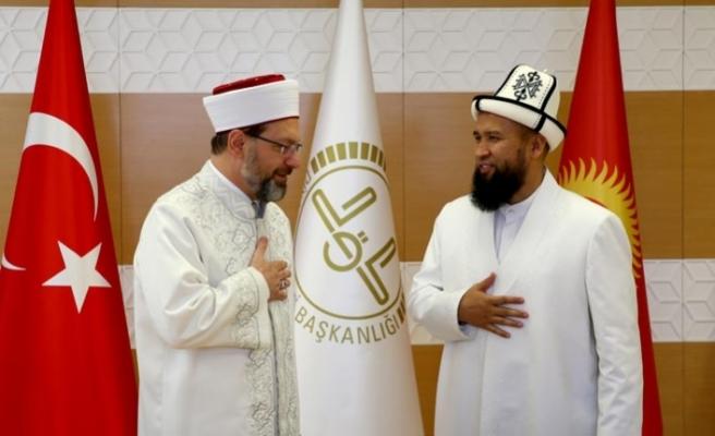 Türkiye ile Kırgızistan arasında cami protokolü