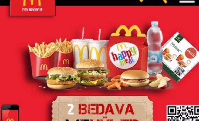WhatsApp üzerinden ücretsiz mcdonalds menü dolandırıcılığı - Ücretsiz 2 McDonald's menüler kazandınız!