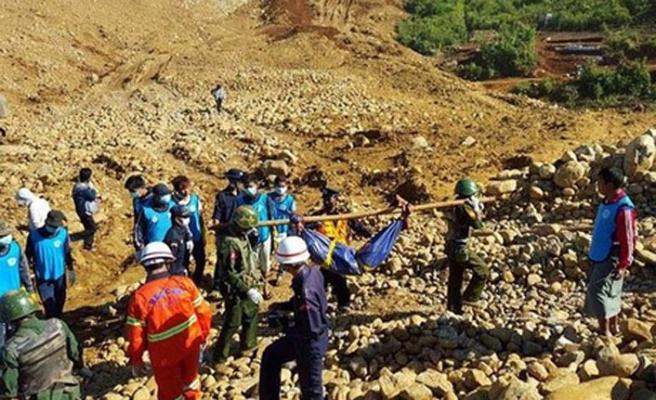 Yeşim madenindeki heyelanda ölen işçiler bulundu