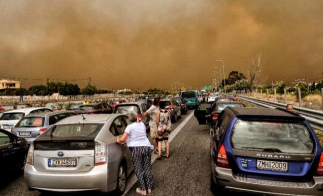 Yunanistan yangınının sebebi açıklandı