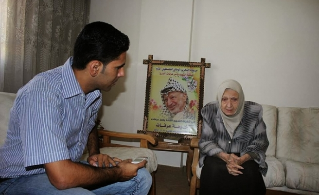 Arafat'ın kız kardeşi vefat etti