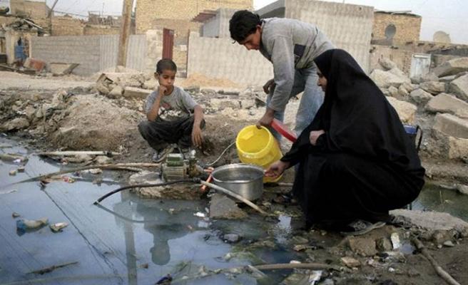 Basra'da musluklardan zehir akıyor