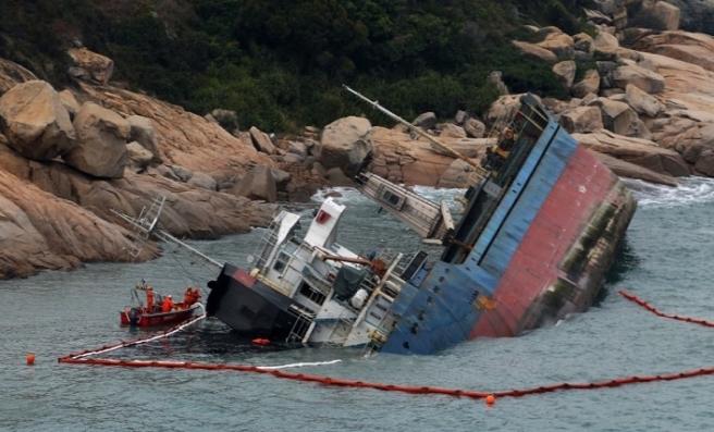 Çin'de kargo gemisi battı: 7 ölü