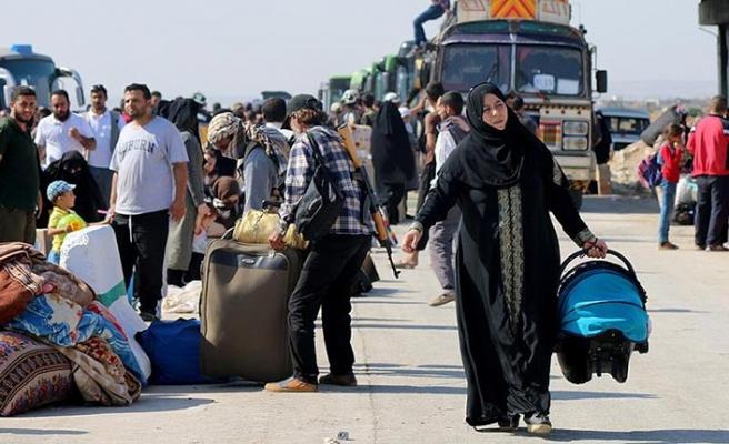 Dera'dan zorunlu tahliye sayısı 3 bin 300'ü geçti
