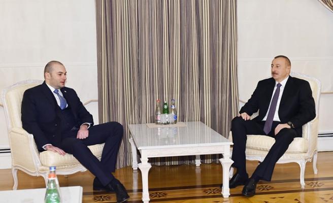 Gürcistan Başbakanı Azerbaycan'da